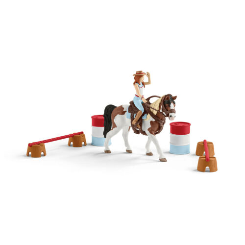 Schleich 42441-d/' Hannah Western-Reitset-Cheval Cavalière obstacles Horse Club