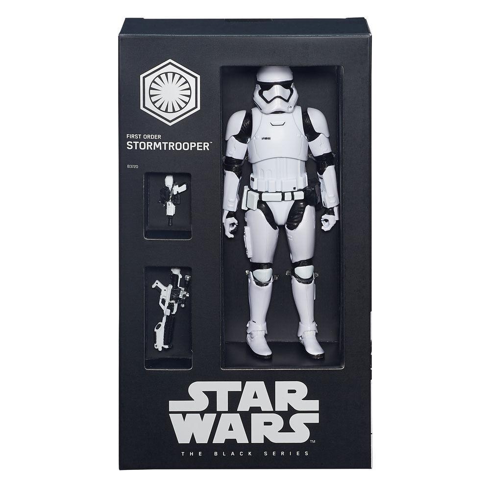 L'esclusiva di Star Wars Nero Serie SDCC primo primo primo ordine Stormtrooper 6  Figura f2a073