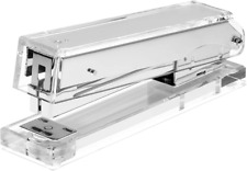 Acrylic Clear Stapler Silver Makes A Cool Office Desk
