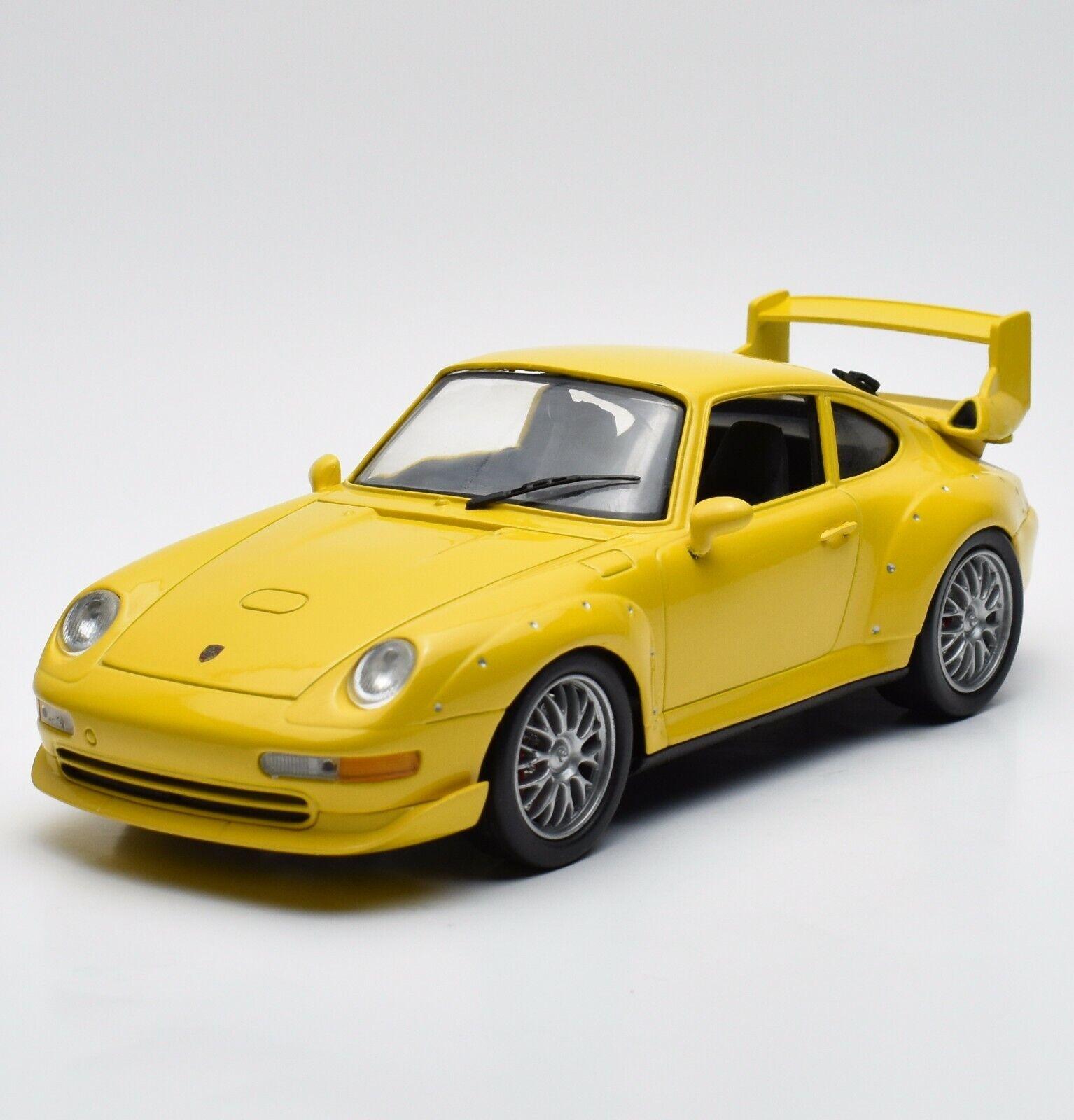 mejor oferta Anson clásico Porsche Porsche Porsche 911 gt2 auto deportivo en amarillo lacados, 1 18, embalaje original, k029  tienda de venta