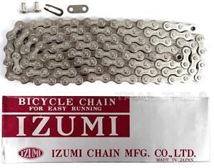 Izumi-Standard-Silver-1-8-034-116L-BMX-Track-Fixed-Gear-Single-Speed-Bicycle-Chain