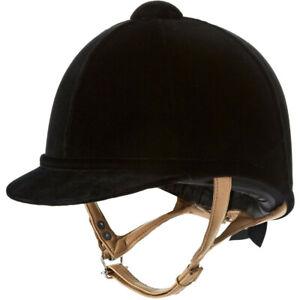 Charles-Owen-FIAN-Unisexe-Securite-Wear-Velvet-Hat-Noir-Toutes-Tailles