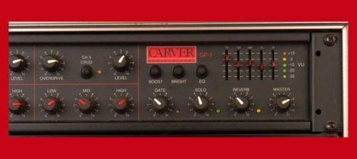 CARVER GP-1 PRO 3 CHAN+ GUITAR System Legendary & MINT