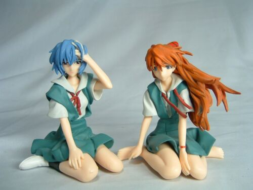 Evangelion Collection Figures Rei Ayanami /& Asuka Completed set Brand-New