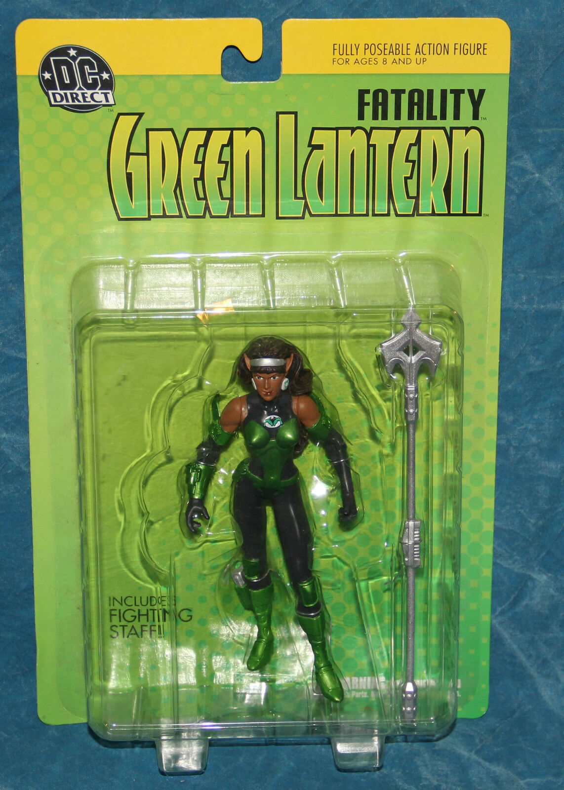 DC Direct Fatality Fatality Fatality Green Lantern Action Figure ad5b76