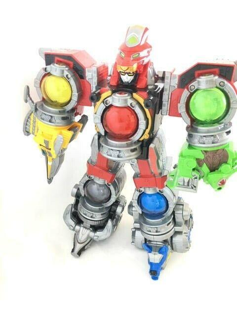 Bandai Power Rangers fundidas Sentai kyuranger kyurenoh Megazord qranger Japn 04161