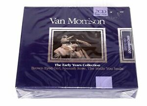 Van-Morrison-The-Early-Years-Collection-x2-CD-039-s-Music-Album-NEW-SEALED-RARE