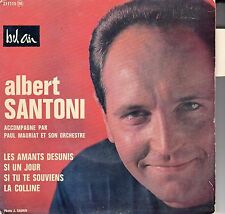 "45 T EP ALBERT SANTONI   ""LES AMANTS DESUNIS"""