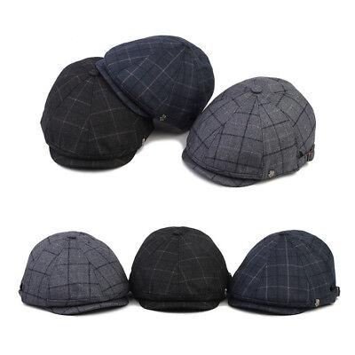 XL~2XL 61~64Cm Mqum Airy Mesh Unisex Mens Flat Cap Newsboy Cabbie Gatsby Hats