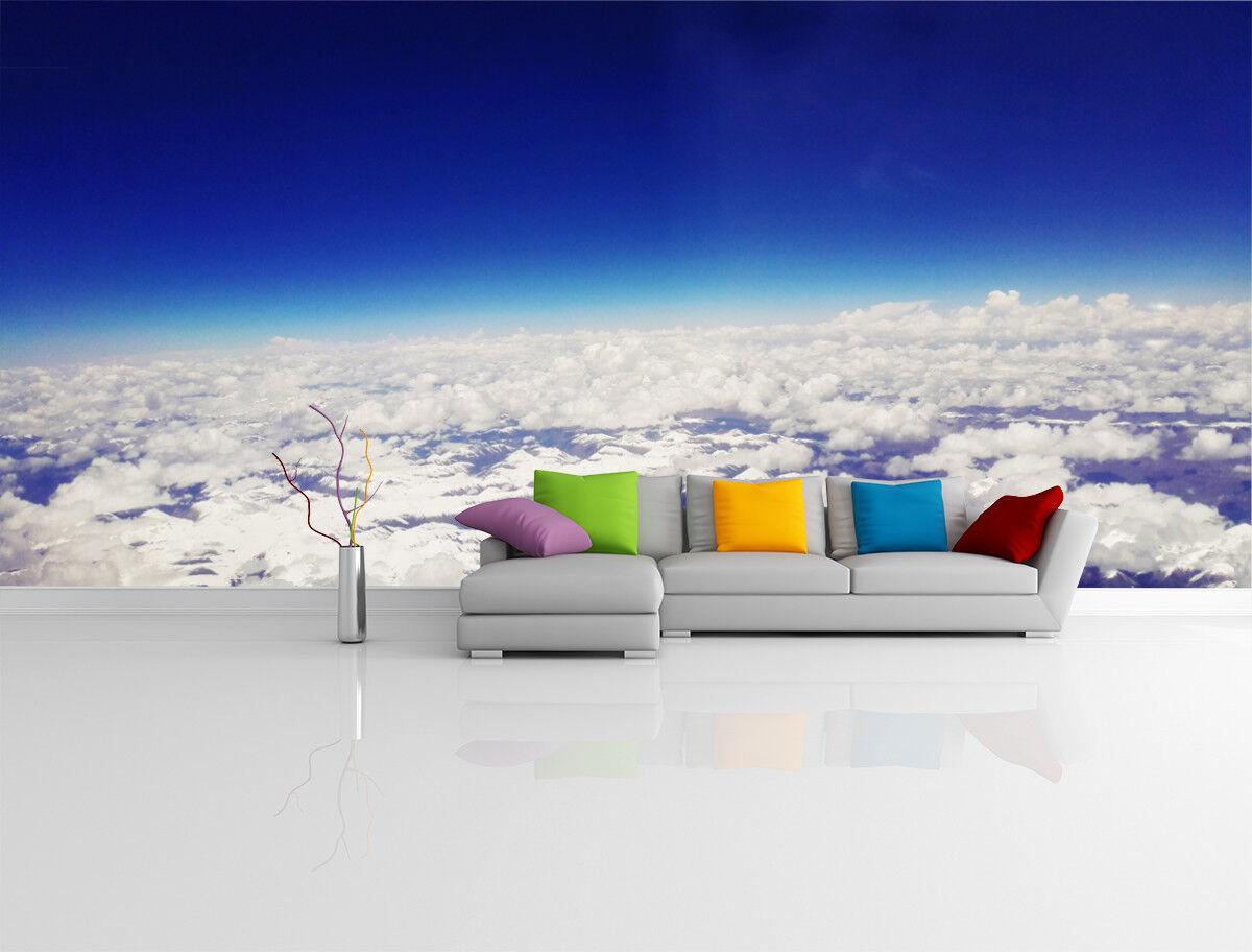 3D Horizon Clouds 76  Wall Paper Murals Wall Print Wall Wallpaper Mural AU Kyra