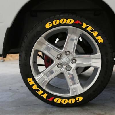 Tire Sticker Kumho Letters Permanent Lettering 1/' Size 14/'-24/' 9pcs