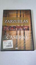 "DVD ""ZARZUELA EL CASERIO"" FEDERICO ROMERO GUILLERMO FERNANDEZ SHAW JESUS GURUDI"