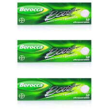 3x Berocca Boost 10 Tabletas