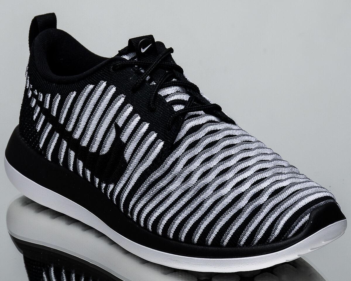 Nike WMNS Roshe Two Flyknit 2 Damens Damens Damens lifestyle Turnschuhe NEW schwarz Grau 844929-001 870a0a