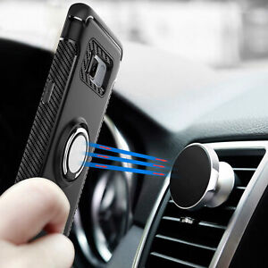 For-Samsung-Note-8-Note-9-S8-S9-Plus-Ring-Stand-Holder-Shockproof-Rugged-Case