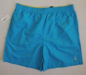 Men-Polo-Ralph-Lauren-Pony-Surf-Board-Trunks-Swim-Suit-Beach-Shorts-Big-Tall