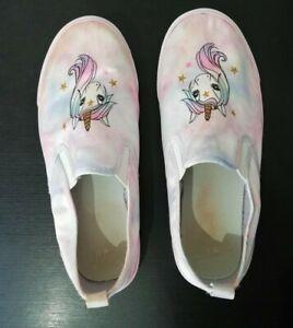 H\u0026M Girls Kids Pink Unicorn Shoes
