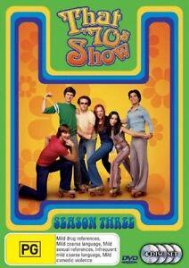 That-70-039-s-Show-Season-3-DVD-2006-3-Disc-Set-Ashton-Kutcher-Mila-Kunis