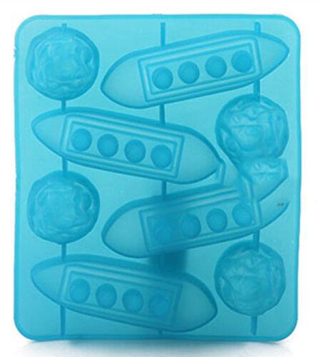 Titanic /& Iceberg Silicone Ice Cube Shape Jelly Tray Maker Mould Large Shape DSU