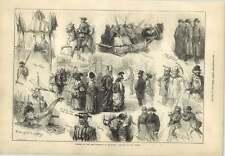 1873 Opening New Townhall Bradford Wool Sorters Bradford Lasses Quarrymen