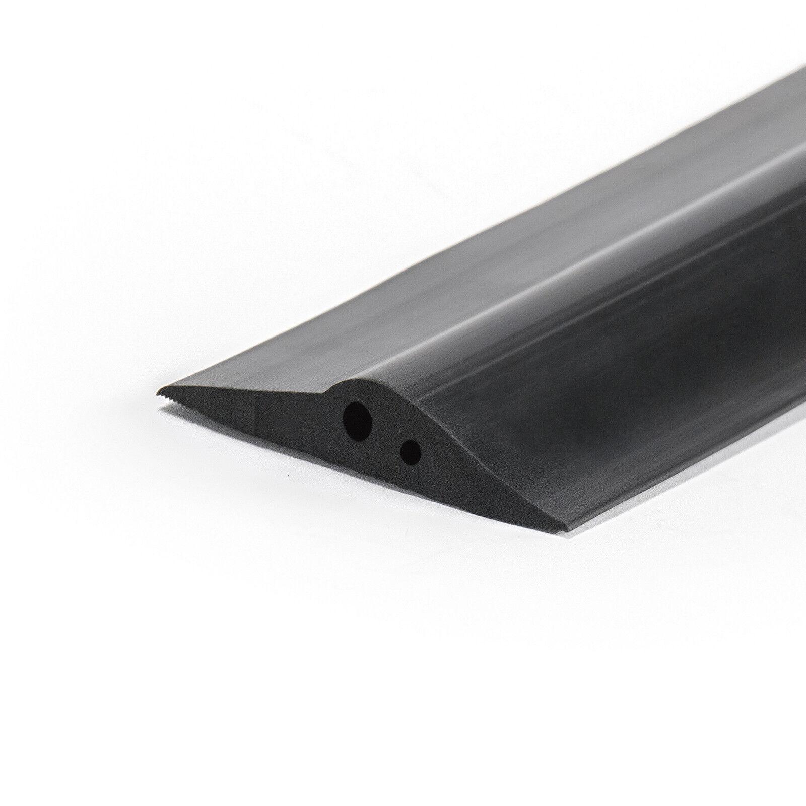 80 Mm x 15 mm Sello de Goma umbral de garaje suelo puerta de tiro para corrientes clima