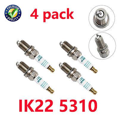 4 PCS IK22 5310 Iridium Power Spark Plug for Nissan Honda Ford Audi Volvo