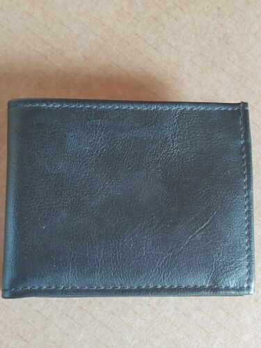 Mike Mike International Wallet Black Leather Bi-Fo