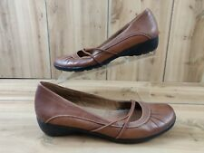 b73cf31a13cf item 7 Natural Soul By Naturalizer 8 1 2 Shoes Flat Mary Jane Brown Comfort  Womens 8.5 -Natural Soul By Naturalizer 8 1 2 Shoes Flat Mary Jane Brown  Comfort ...
