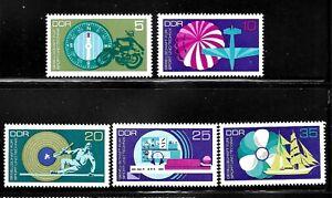GERMANY-DDR-SC-1388-1392-MINT-NO-HINGE