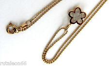 TOUS colgante flor oro 750 con nácar (18K yellow gold pendant mother of pearl)