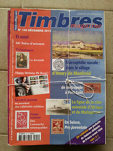 Revue-Timbres-magazine-annee-complete-2012-numeros-130-au-140