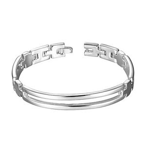 Mit Sterlingsilber Da315 Providing Amenities For The People; Making Life Easier For The Population Fashion Jewelry Other Fashion Jewelry Industrious Damenarmband Gliederkette 10 Mm 20cm Armband Damen Pl