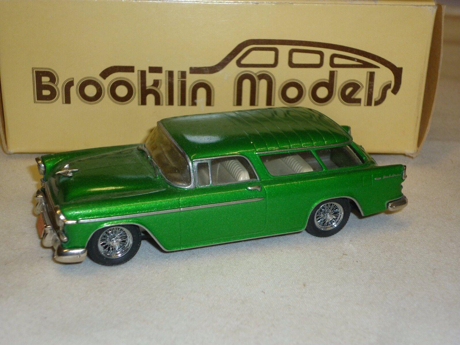 Brooklin models BRK26, 1955 Chevrolet Nomad  ( MB )