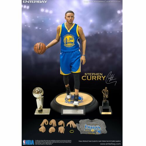 16 Scale ENTERBAY Real Masterpiece NBA Collection  Stephen Curry Action Figure