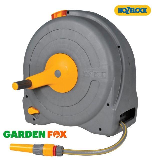Hozelock Auto Reel 40 2595R0000 Garden Hose Reel 40 m Green Grey 1 Piece
