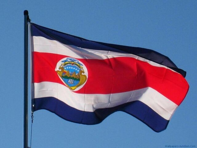 costa rica state national country polyester flag wall indoor outdoor