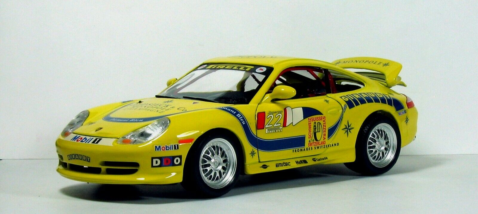 PORSCHE GT3 1 18 BURAGO
