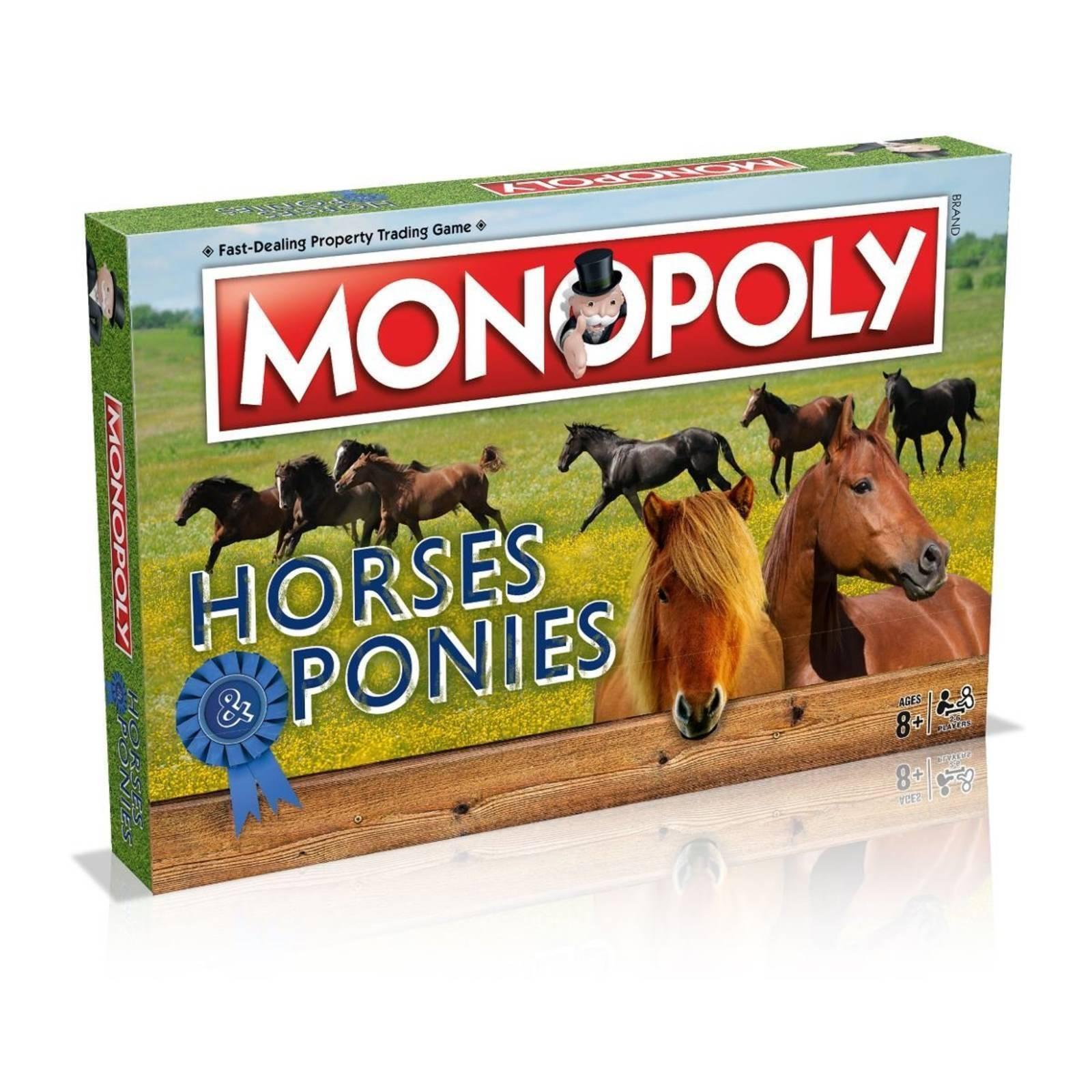 Monopoly Chevaux & Poneys Édition par Winning Moves