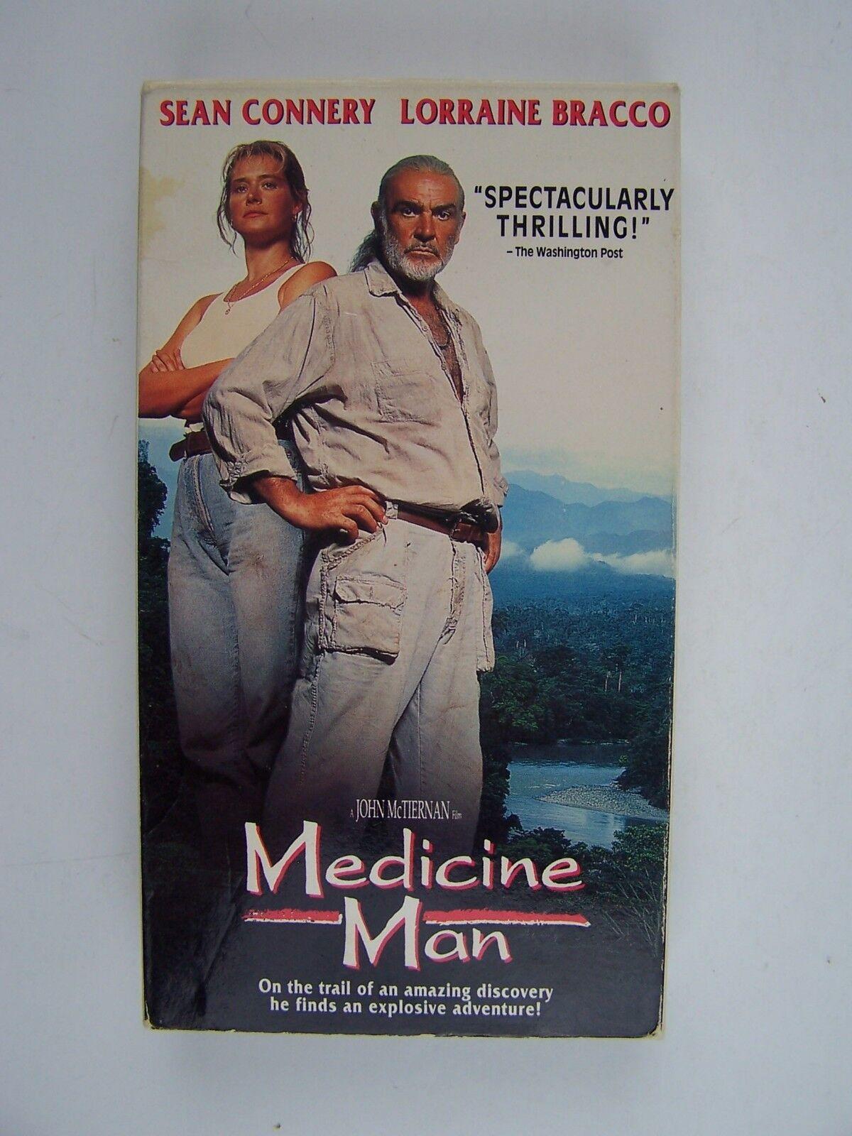 Medicine Man VHS Sean Connery, Lorraine Bracco 71795135