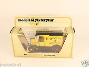 MATCHBOX-MODELS-OF-YESTERYEAR-Y-12-1912-FORD-MODEL-T-1978-LESNEY-NI-OG3-009