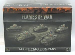 Soviet Mid-War Singles Flames of War M3 Lee Tank Company