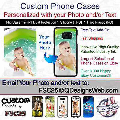 Custom Phone Case Cover Personalized Photo image logo gift fits Samsung s9  PLUS | eBay