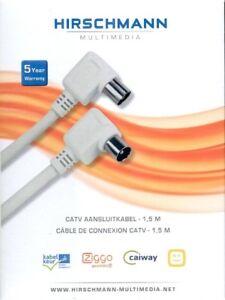 Hirschmann-CATV-aansluitkabel