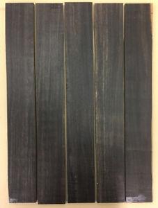 A-Ebenholz-Griffbrett-Ebony-Fingerboards-Tonholz-Tonewood-Drechselholz