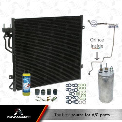 New AC A//C Condenser Kit Fits 2002 03 04  2005 Jeep Liberty L4 2.4L /& V6 3.7L