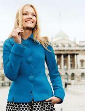 NWT Orig $198 Boden Alice Jacket Blazer Light Coat In Black Size US 4 *