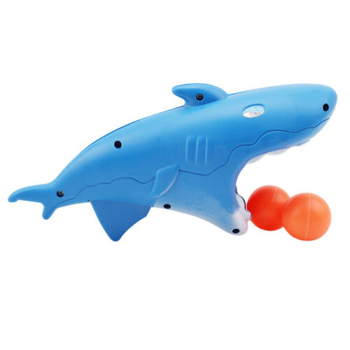 Funny Parent-child Interactive Pingpong Ball Game Dolphin Shark Launch Toy LH