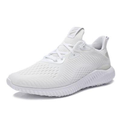 AlphaBounce EM White/Grey BY4426 Sz 8