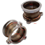thumbnail 2 - 76mm-V-Band-Turbo-Downpipe-Adapter-Flange-3-Bolt-T3-To-3-034-V-Band-Gt303071r
