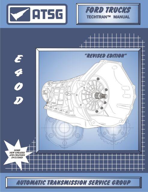 ford e4od atsg rebuild manual e40d transmission service overhaul book super  duty